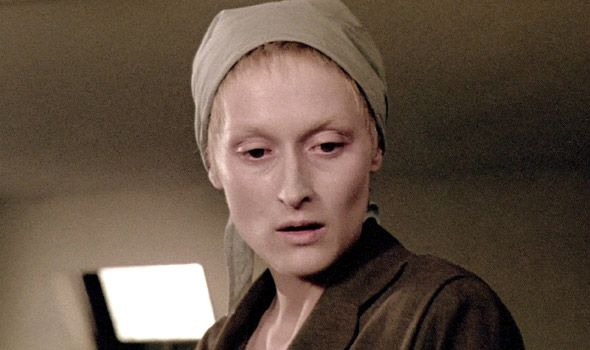 """Sophie Zawistowska from """"Sophie's Choice,"""" by William Styron (Meryl Streep pictured)"""