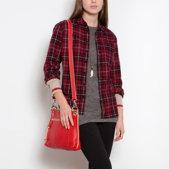 Aberdeen Flannel Shirt | Women's Tops Shirts and Tunics | Roots