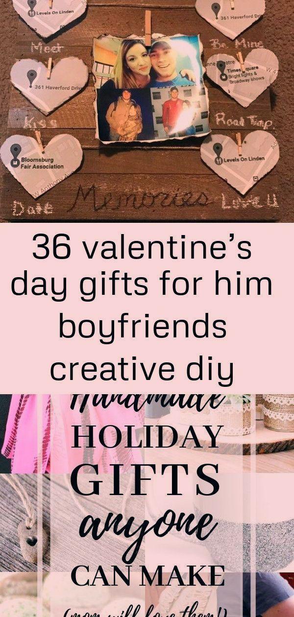 36 Valentine's Day Gifts for Him Boyfriends Creative DIY