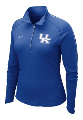 University of Kentucky Women's 1/2 Zip Top - Nike