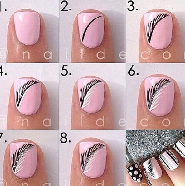 Nail design is very much attractive and also nice and cool