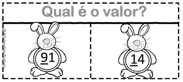 Atividade interativa valor absoluto e relativo/ dezena e unidade - Atividades Adriana