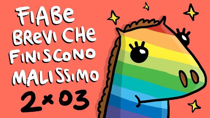 Il Cavallo Colorato (Serie 2) - FIABE BREVI CHE FINISCONO MALISSIMO
