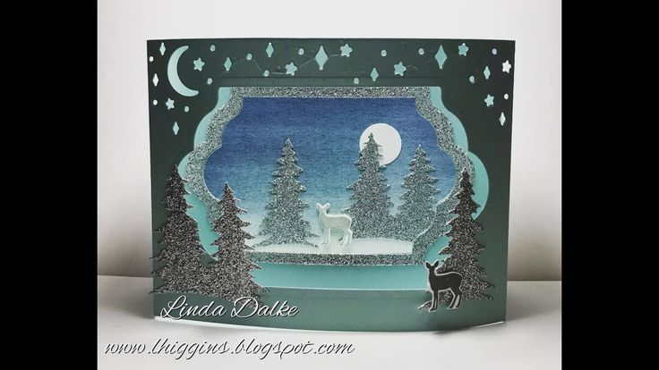 Carols of Christmas Diorama Card