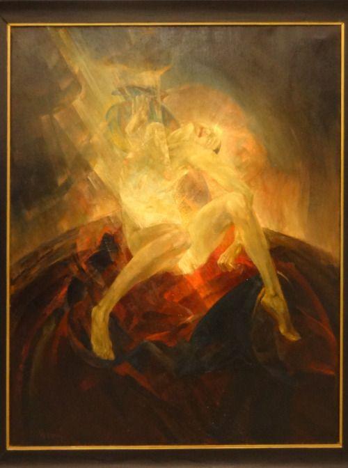 Conception - Maxim Kopf Oil on canvas, 1920