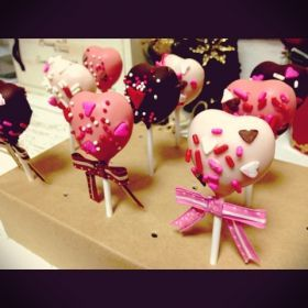 「ハートのチョコポップ」みゅまこ   お菓子・パンのレシピや作り方【corecle*コレクル】