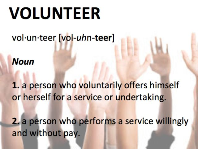 definition of volunteer Looking for definition of volunteer volunteer explanation define volunteer by webster's dictionary, wordnet lexical database, dictionary of computing, legal.