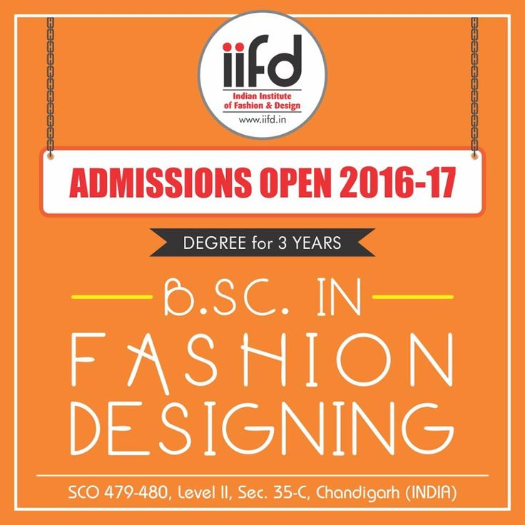 B.SC. in Fashion Designing.  Admission open !!! Get more info @ http://iifd.in or http://iifd.in/diploma-in-interior-designing/   #iifd #best #fashion #designing #institute #chandigarh #mohali #Panchkula #Delhi #Ambala #Sector35 #punjab #Himachal #Haryana #design #indian  #iifd.in #admission #open #create #miss #India #imagine #Bsc #Course #Interior #Master #Courses #Textile #MSC #Degree #Diploma #College #Colleges #institutes