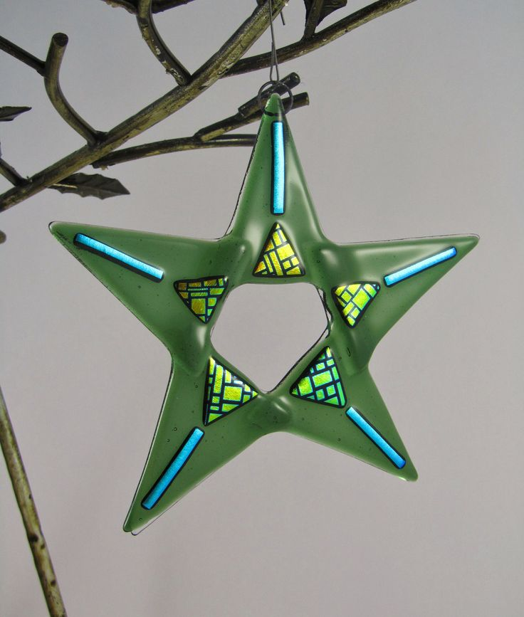 """6"""" Long x 6"""" Wide $22 by AlteredElementsGlass -Janeen Shagman on Etsy"""