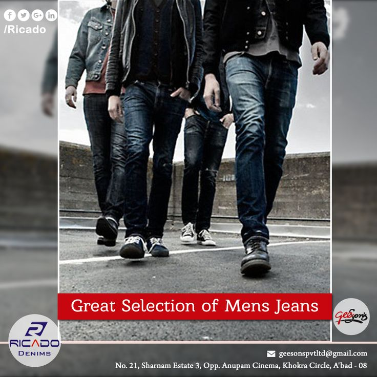 Buying mens denim is a simple task, especially when you are sure about quality. Ricado Denims brings the best collection and quality of trendy jeans designs. Rico Jeans have countless variety to choose from and is budget friendly too. To choose the best demin jeans for men in India, visit  http://ricadodenims.com/. Purchase your items from our line of top quality products by the best mens denim jeans manufacturer.  #SlimFitJeans  #RegularFitJeans  #SkinnyFit  #JeansManfacturerinAhmedabad