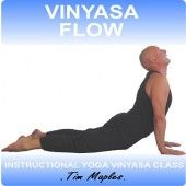 A flowing yoga class great for Improvers.