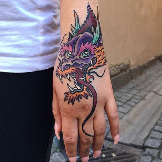 Top 80 3d Dragon Tattoo Designs Ideas For Men Dragon Hand Tattoo