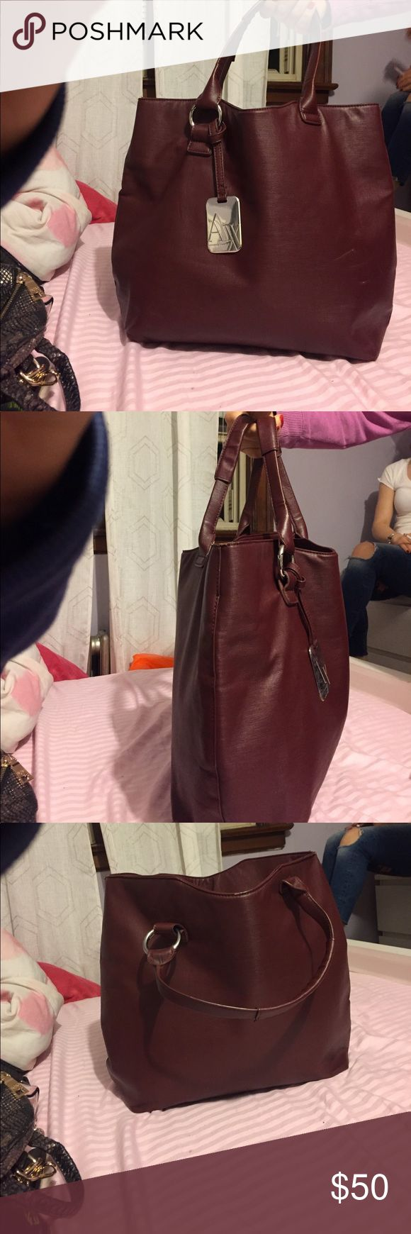 Armani exchange tote. Great bag only worn couple times. A/X Armani Exchange Bags Totes