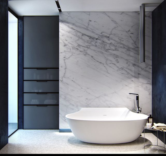 Adorable 80 Cool and Modern Bathroom Wall Decor Ideas https://homstuff.com/2017/07/09/80-cool-modern-bathroom-wall-decor-ideas/