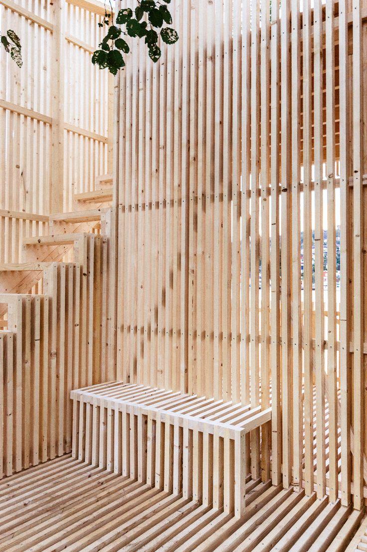 Timber Pavilion • Porsgrunn • Norway • Kollaboratoriet • 2013