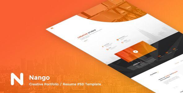 Nango - Creative Portfolio, Resume