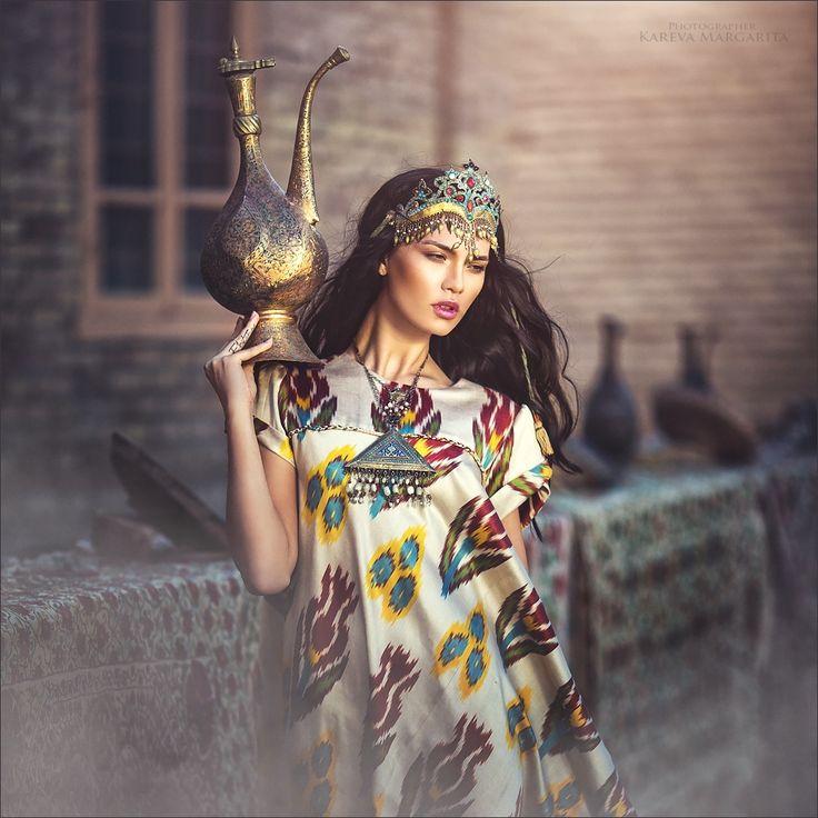 Khiva - Хива Девушка Узбекистан