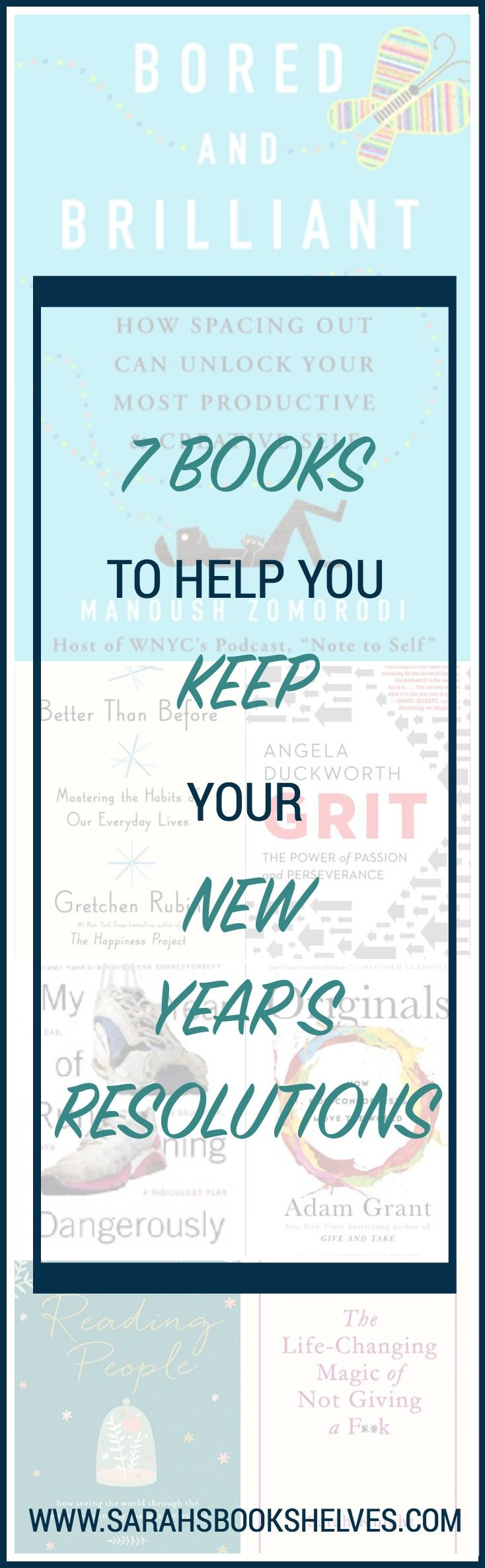 My 7 books to help you keep your New Year's resolu…Edit description