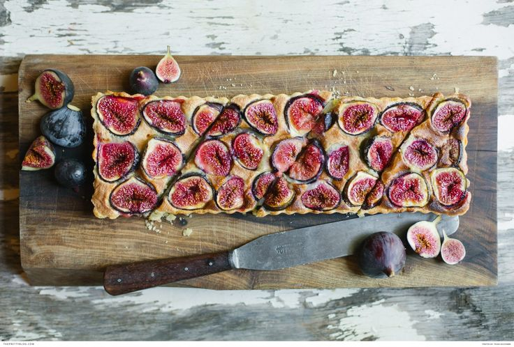 A Fabulous Fig Tart | Recipes | The Pretty Blog