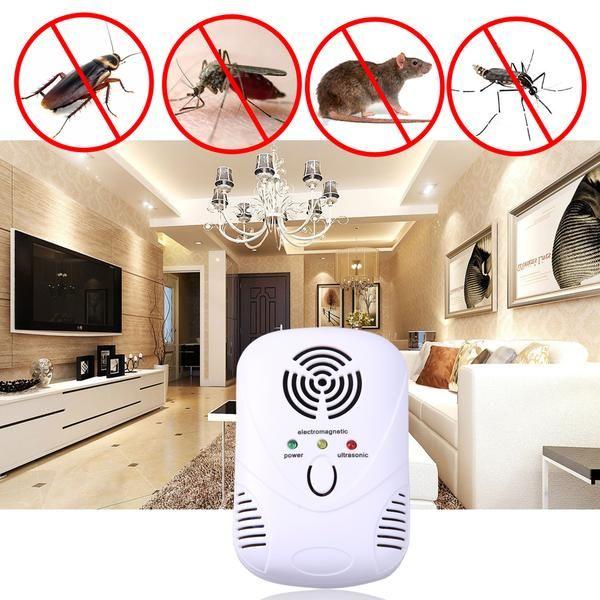 Ultrasonic Pest Repellent Electronic Pest Control Plug In Pest Repelle Sinokmed Mice Repellent Electronic Mouse Repellent Best Pest Control