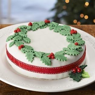 Christmas Cake #hobbycraft