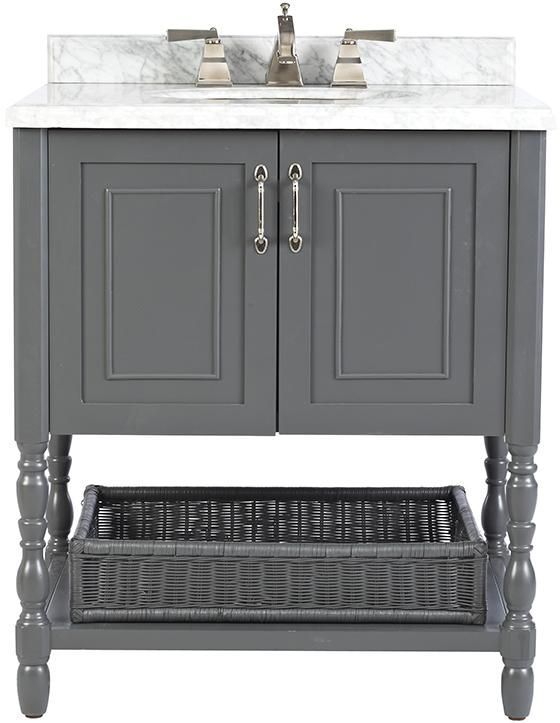 Best Photo Gallery Websites Home Decorators Collection Karlie in D Bath Vanity in Dark Charcoal with Natural Marble Vanity Top in The Home Depot