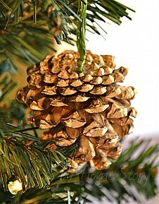 Inexpensive DIY Christmas Ornaments from Wooden Cutouts