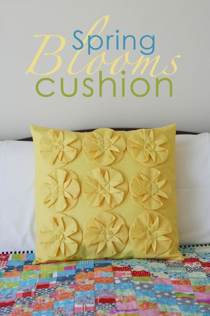 Image of Spring Blooms Cushion - paper pattern & 833 best Cushions \u0026 Pillows images on Pinterest | Cushions Sewing ... pillowsntoast.com