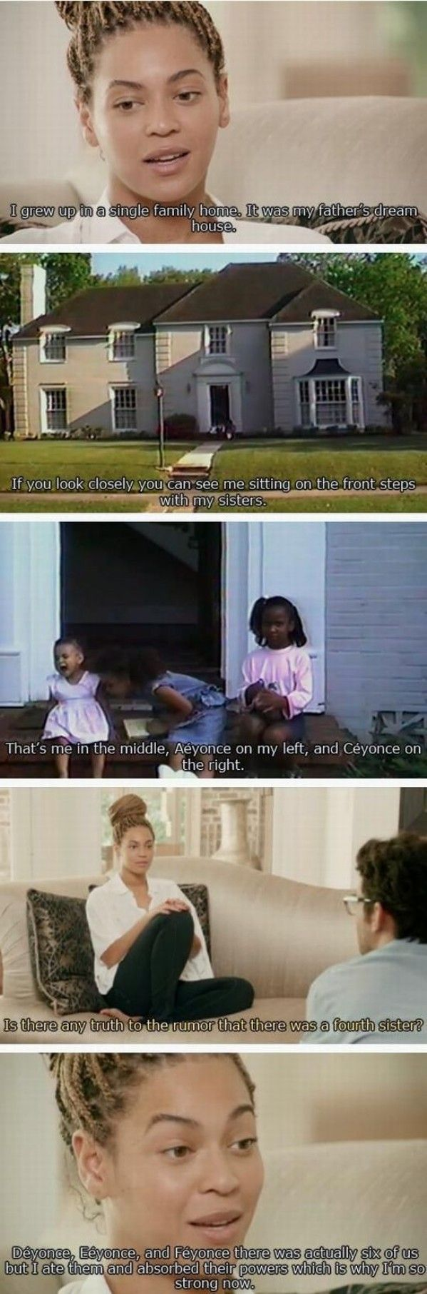 Beyonces Past   - funny pictures #funnypictures