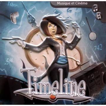 Timeline: Zene és Mozi - családi társasjáték 8 éves kortól - Asmodee