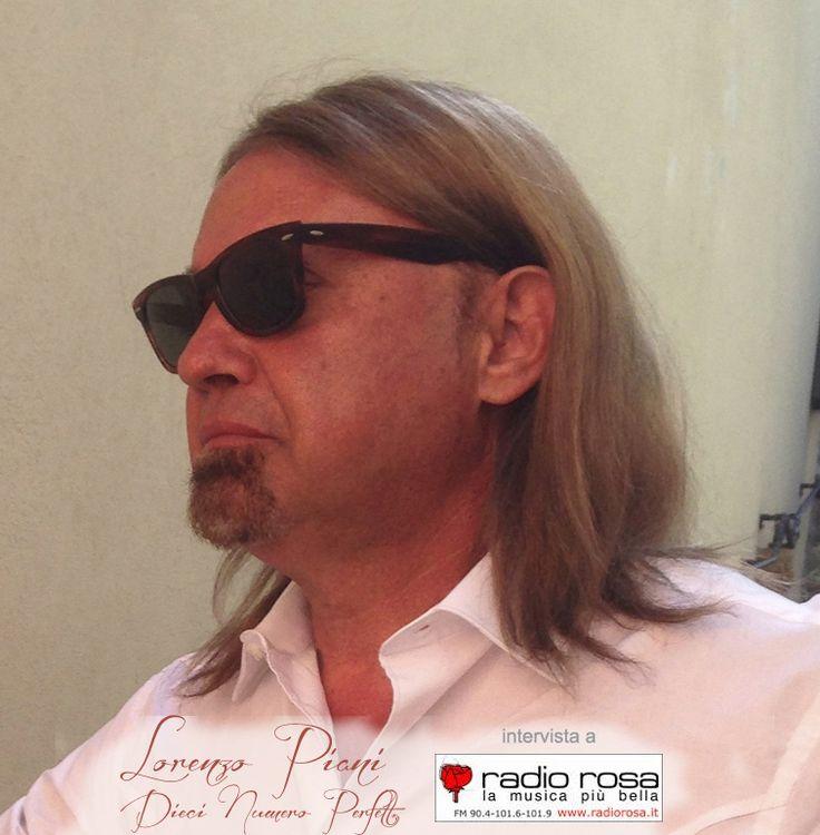 Intervista di #LorenzoPiani a #RADIOROSA con #SNDMUSIC www.radiorosa.it