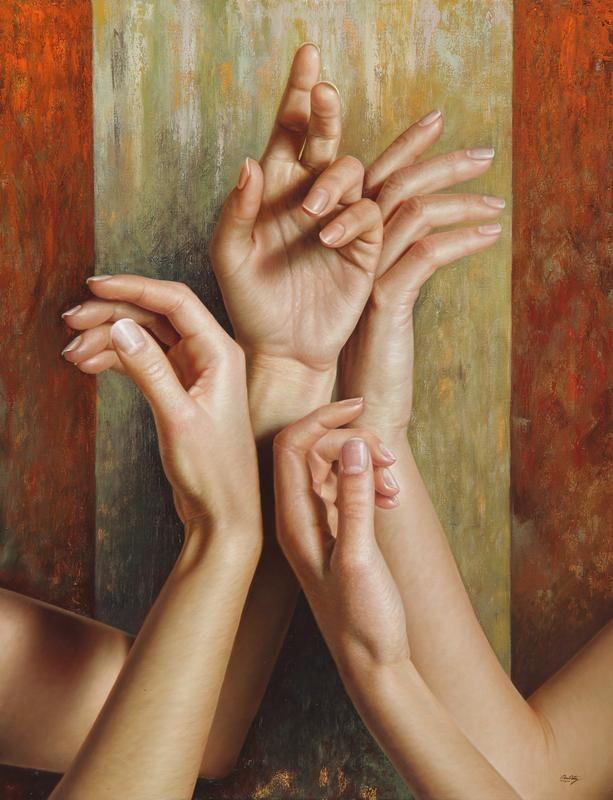 Realistic paintings by Omar Ortiz #Art #Painting #ContemporaryArt #Realism