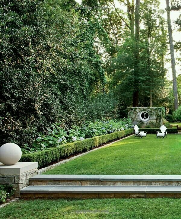 Co Co's Collection : Formal garden # structure # roses # boxwood can't you imagine a garden party in this space
