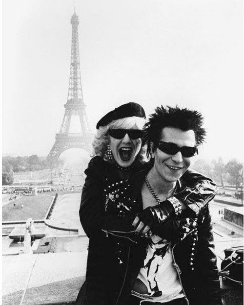 Sid vicious y nancy
