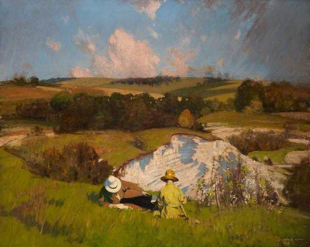 The Chalk Pit by George Henry