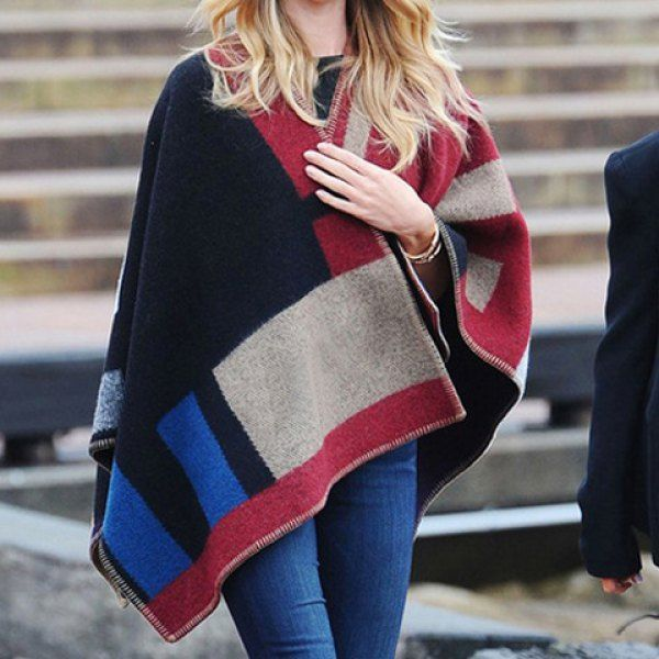 Chic Checked and Letters Print Cashmere Scarf For Women, AS THE PICTURE in Scarves | DressLily.com