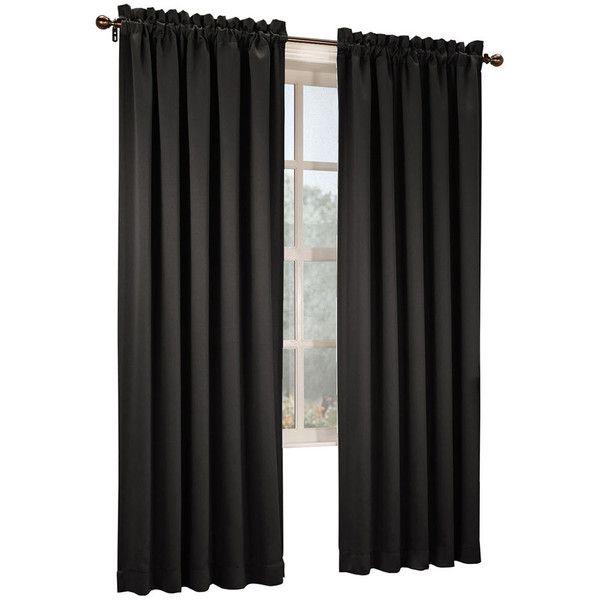Room Darkening Curtains, Window Curtains, Curtain Panels, Rod Pocket  Curtains, Black Curtains, Black Curtain Rods, Window Panels, Home Curtains,  ...