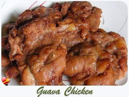 Delicious Baked Guava Chicken recipe. Try this simple and tasty local style recipe.