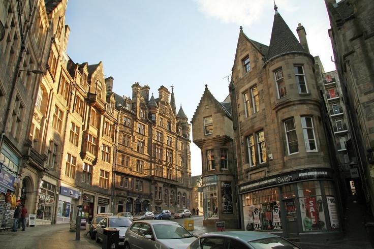 Calles  de Edimburgo