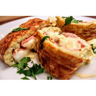 Blech-Rösti mit Raclette Käse Füllung