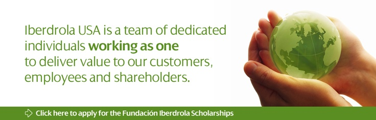 Iberdrola USA - Chemical Engineering, Information Systems Engineering, Communication, Computer Engineering, Mathematics, Mechanical Engineering, Mechanical Engineering Technology, Accounting, Finance, Electrical Engineering, Electrical Engineering Technology, Environmental Management & Policy, Financial Economics, Forestry, Engineering, Business Administration