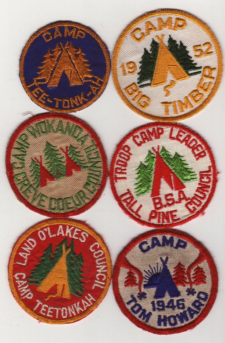 vintage boyscout patches - Google Search