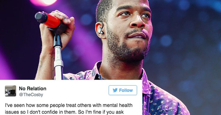 Black Men Are Opening Up About Their Mental Health After Kid Cudi's Announcement - BuzzFeed News