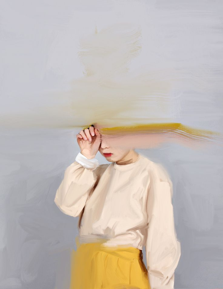 Girl with the Yellow Skirt by Nyssa Sharp. http://nyssa.bigcartel.com/