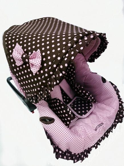 Capa para Bebê conforto Protetor Fixo AC