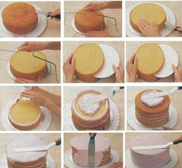 How to frost a cake correctly!!