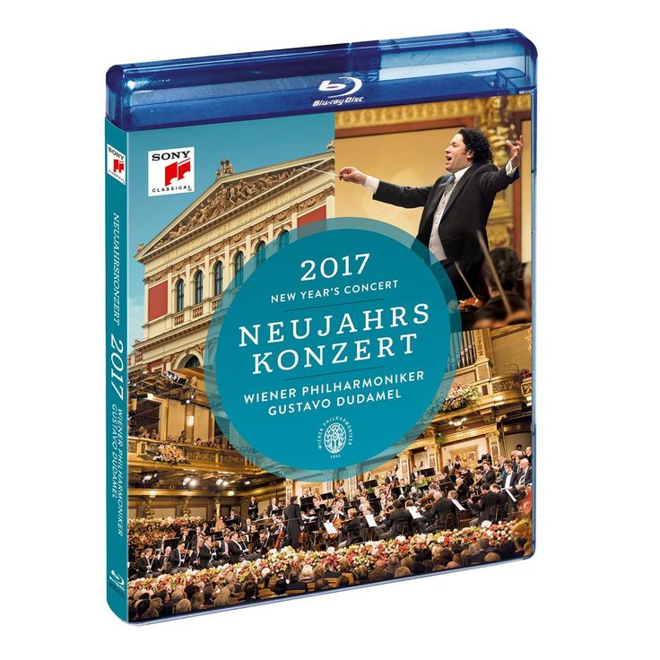 NEW YEAR'S CONCERT 2017 by Gustavo Dudamel & Wiener Philharmoniker Blu-ray 維也納新年音樂會 2017