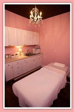 Pink treatment room