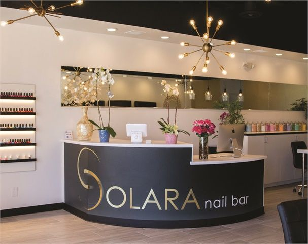 On The Road Solara Nail Bar Beauty Salon Decor Nail Salon