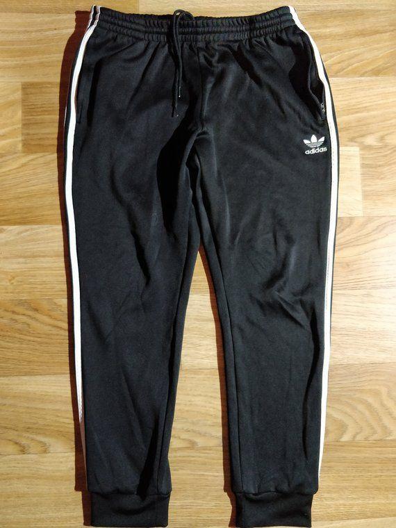 Adidas Originals 90s Vintage Womens Tracksuit Pants Trousers